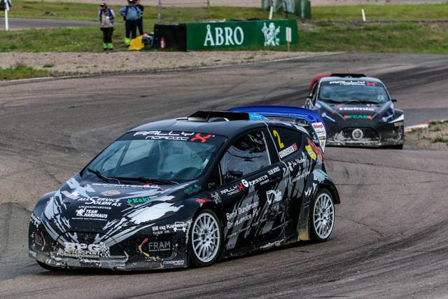 2018 Supercar Lites runner-up Ben-Philip Gundersen on his way to victory in Koiuvola