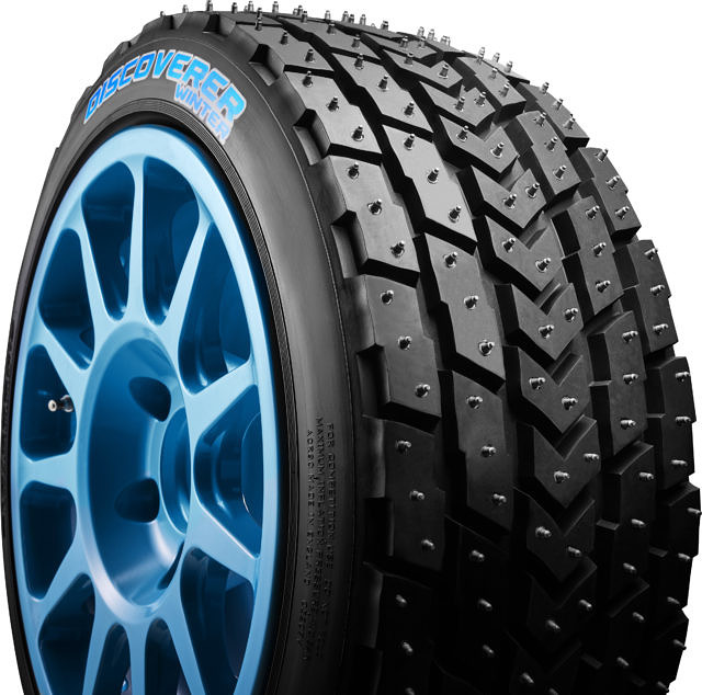 Cooper Tires Ice studded tyre