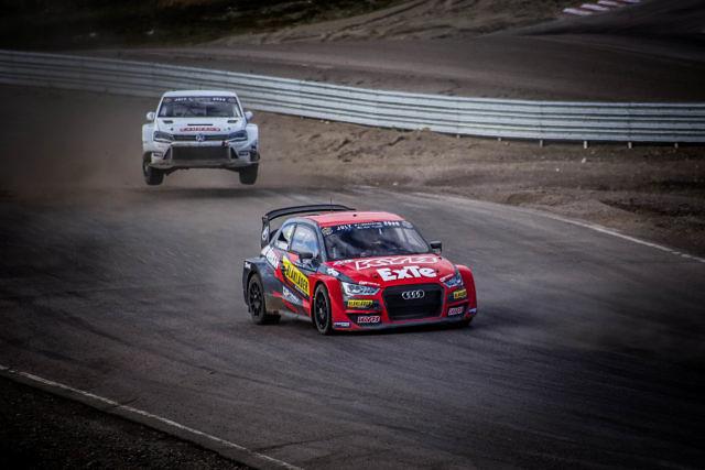 robin larsson rallyx nordic racing