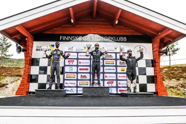 Jimmie Österberg Isak Reiersen Jarkko Aronen CrossCar/Crosskart Höljes Round 4 2021