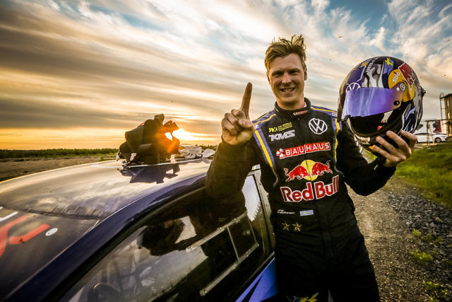 Johan Kristoffersson OuluZone Finland RallyX Nordic