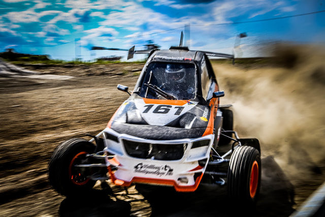 Patrik Hallberg CrossCar/Crosskart OuluZone Finland Round 5 and 6