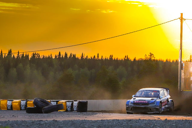 Johan Kristoffersson RallyX Nordic Supercar OuluZone Finland Rounds 5 and 6