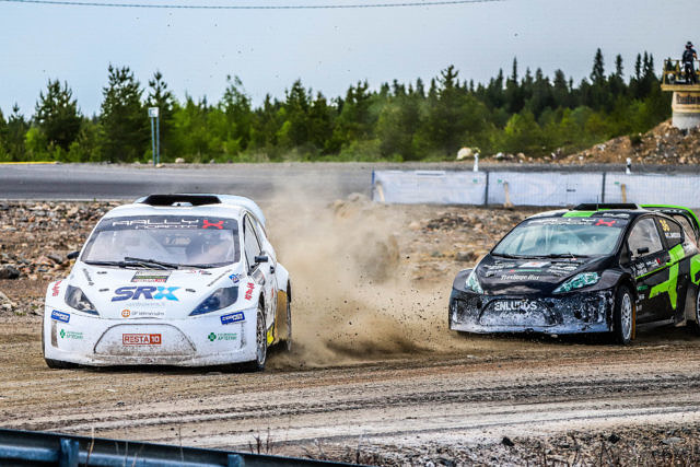 Tommi Hallman Supercar Lites OuluZone Finland RallyX Nordic June 6, 2021