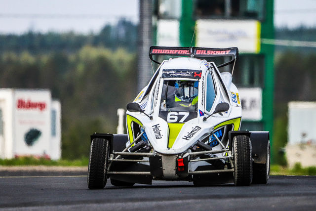 Isac Egonsson CrossCar/Crosskart OuluZone Round 4