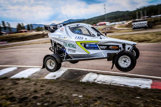 Isac Egonsson CrossCar/Crosskart Höljes Round 3